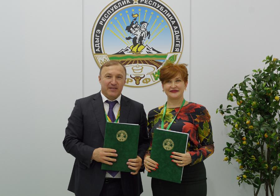 Глава Адыгеи подписал с инвестором соглашение о создании кластера в сфере молочного козоводства