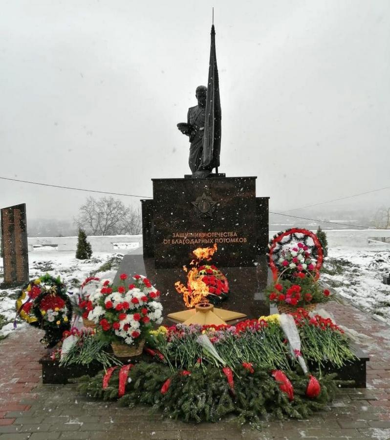 Мединский открыл на Орловщине уже шестой в регионе памятник защитникам Родины