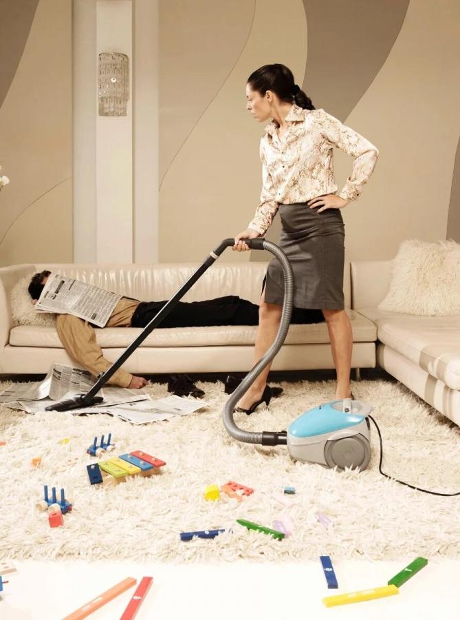 Когда муж домашний тунеядец