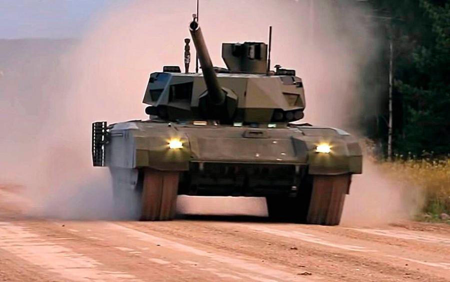 """Российский танк """"Армата"""" вышел против 9 боевых машин Израиля в Сирии. Бой, который напряг западных военных"""