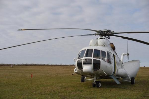 Вертолёт санавиации доставил в госпиталь в Энеме тяжёлых ковид-больных