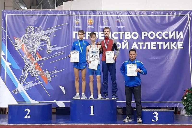 Легкоатлеты из Адыгеи завоевали медали первенства страны