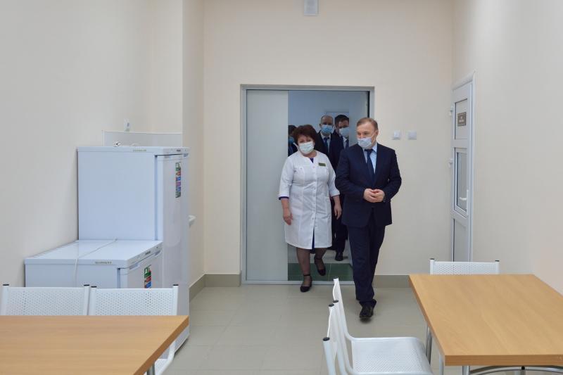 В Гиагинском районе Адыгеи завершили строительство нового корпуса больницы