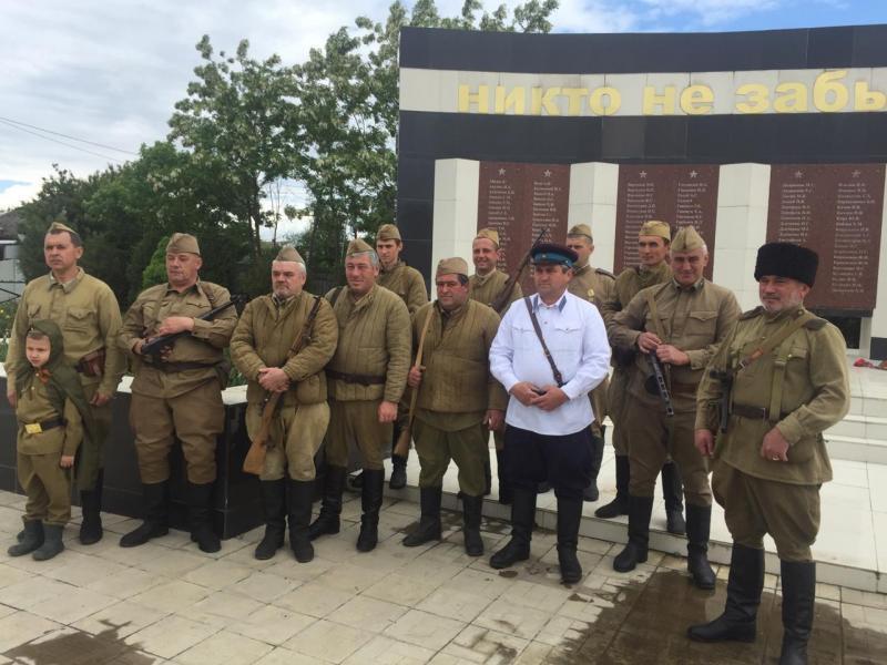Реконструкцию боя времен Великой Отечественной войны покажут в п. Яблоновском 8 мая