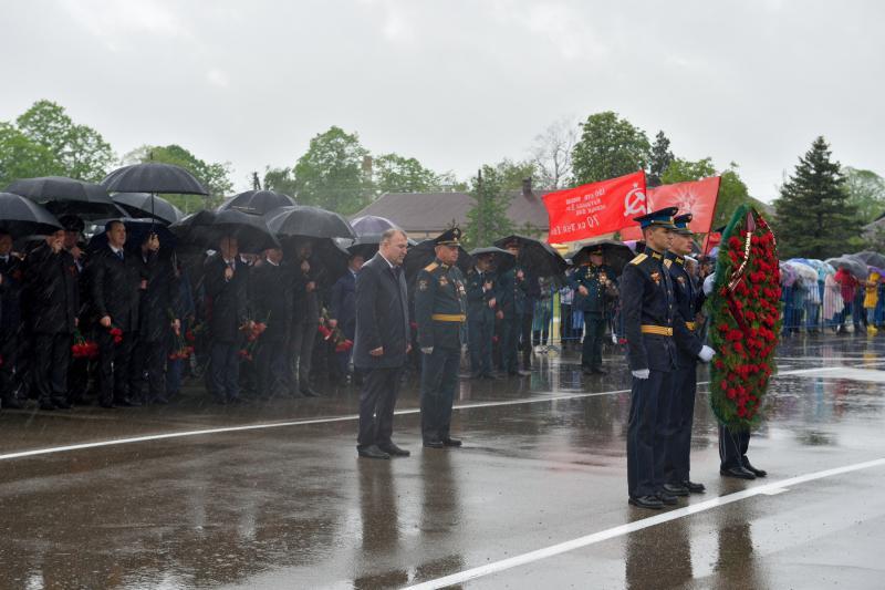 В Адыгее отмечают 76-ю годовщину Победы в Великой Отечественной войне