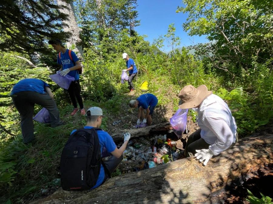 Волонтеры и специалисты центра «НАБУ-Кавказ» приняли участие в экологической акции