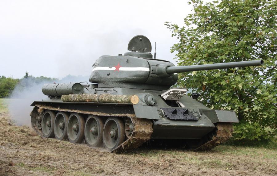 Американское издание NI включило советский Т-34 в число изменивших историю танков