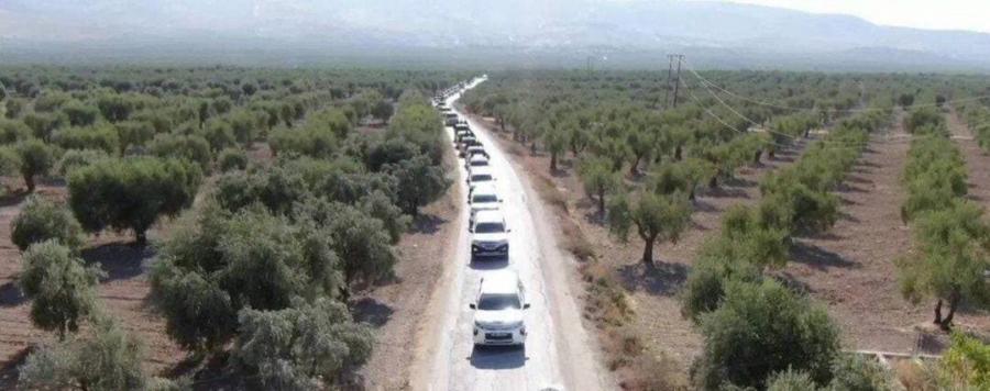 Километровые колонны турецких военных и боевиков подошли к позициям армии Сирии